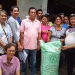 Drought stricken farmers receive rice seeds assistance By Laurifel Q. Gonzales PGO-Media Center