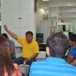 Mayor Caoagdan urges Barangay Captains to fast tract flow of communication with the LCE
