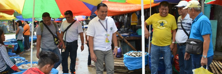 Routine visit at Makilala Public Market on a Wednesday Market Day with Mayor Caoagdan